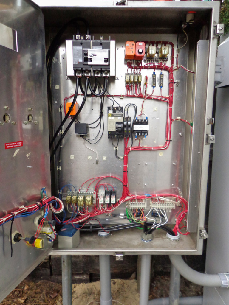 After- Inside of Control Panel